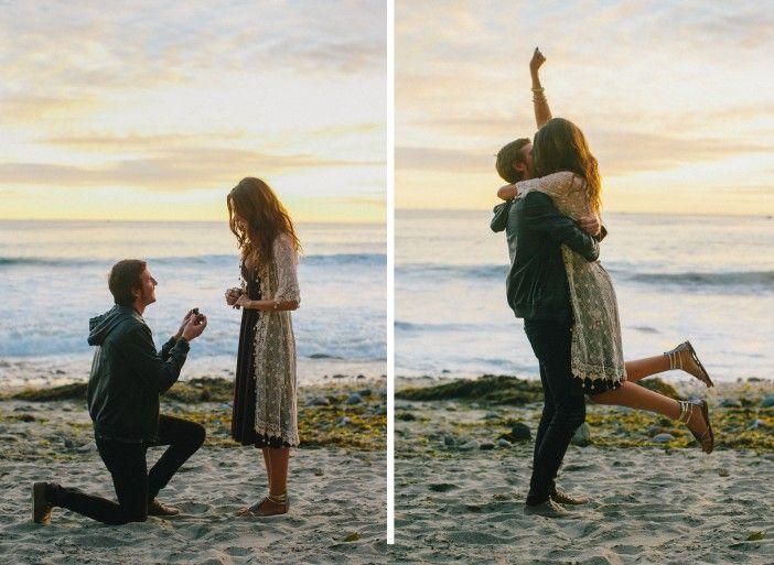 Best 25 Beach Proposal Ideas On Pinterest