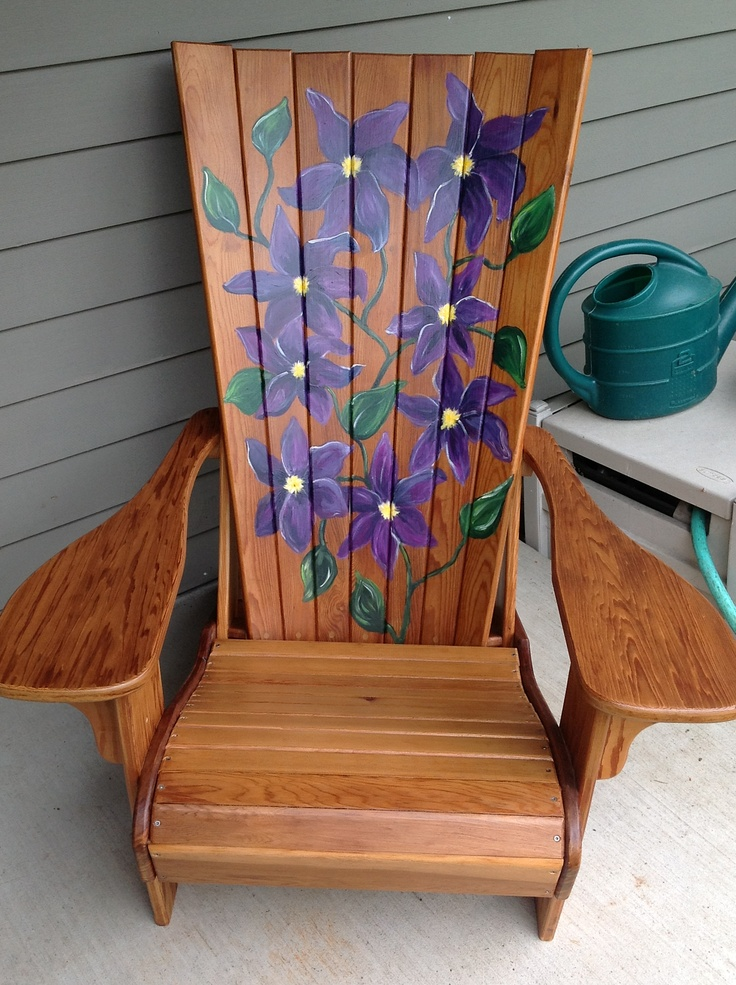 Purple Patio Chair Seat Cushions: 80 Best Adirondack Chair Ideas Images On Pinterest