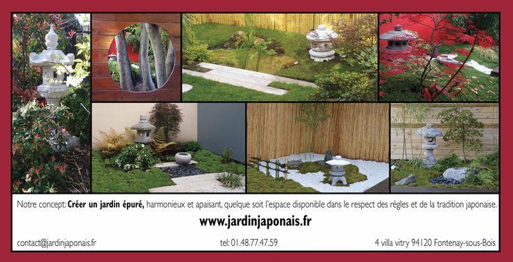 Les 498 meilleures images du tableau jardin japonais et - Tableau jardin japonais ...