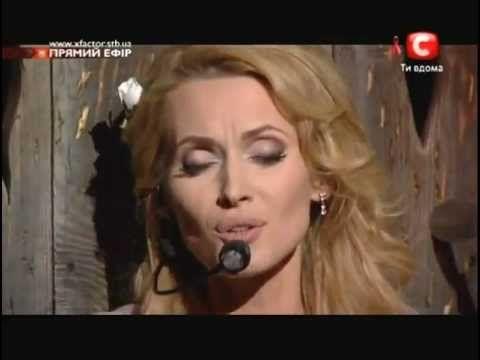 Аида Николайчук - Уитни Хьюстон - [ Я хочу бежать к тебе ] Х-Фактор 3 - YouTube