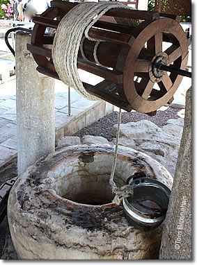 *TASUS,TURKEY~St. Paul's Well,an ancient stone well located in the ruins of Tarsus, Turkey. Tarsus was the hometown of the apostlePaul(Acts 9:11),a city of great importance(Acts 21:39)as a learning center of the ancient world.The well is in a courtyard held by tradition to be the site of Paul's house. The remains of the house are protected under glass.The site is a pilgrimage destination for some+the water from the well is believed to have healing powers.