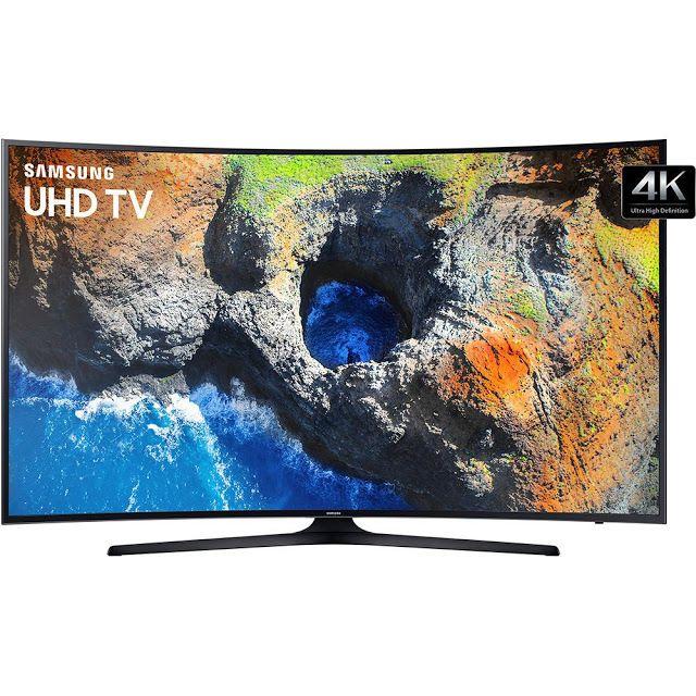"Smart TV LED Curva 55"" Ultra HD 4K Samsung 55MU6300 com Conversor Digital 3 HDMI 2 USB Wi-Fi Integrado << R$ 339900 em 12 vezes >>"