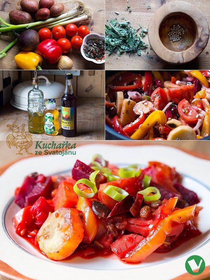 Kuchařka ze Svatojánu: Sladkokyselá zelenina dušená v troubě