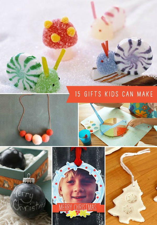 15 DIY Gifts Kids Can Make