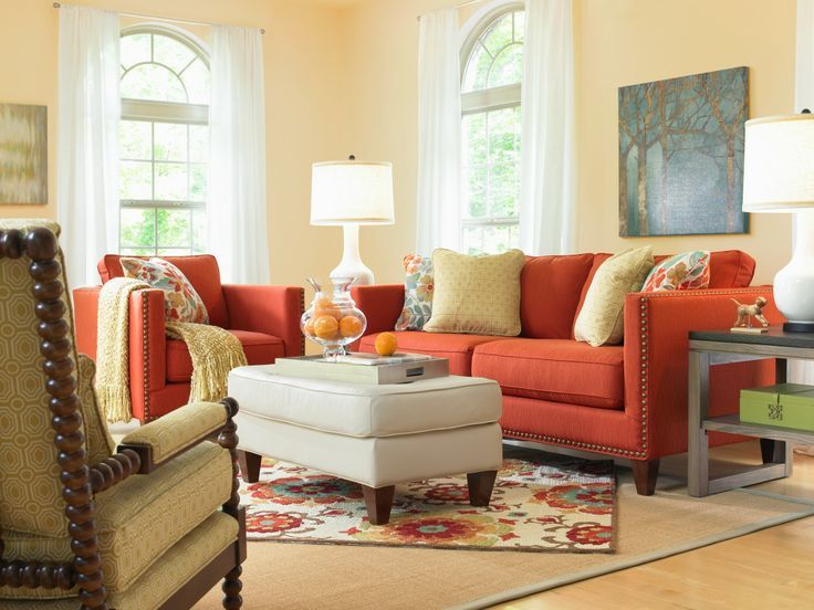 Behold: Picture Perfect Comfort Captured By A Bold Kinsley Sofa. Lazy Boy  FurnitureLiving Room ... Part 13