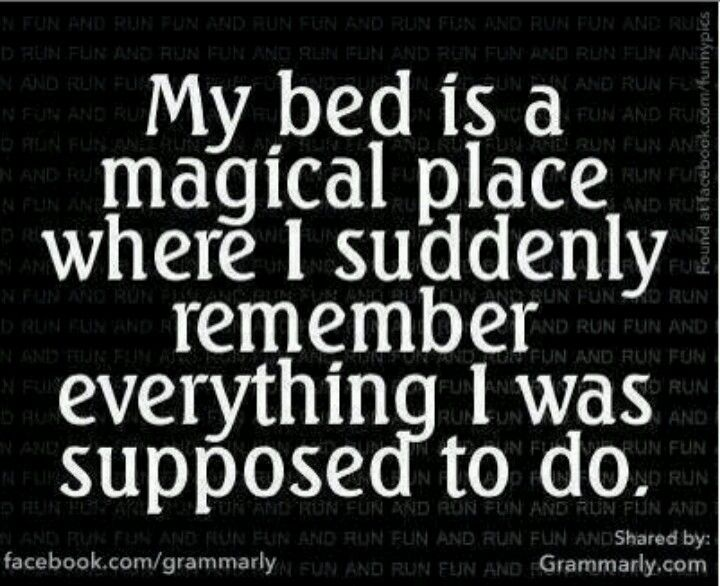 Thats why i cant sleep a night
