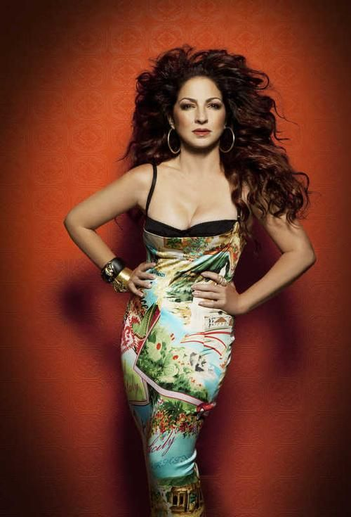 Gloria Estefan: my favorite Latin singer, and my number one pick for Zumba dancing. Latino women age so beautifully!