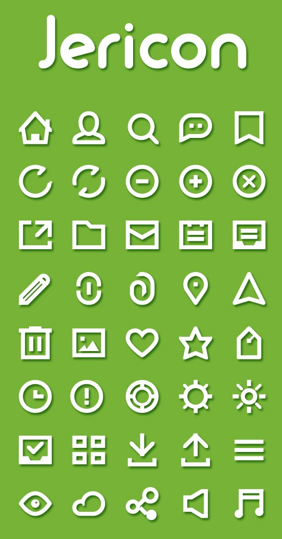 Jericon - Free Icon Set