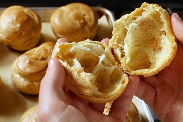 Pate a choux is the basic recipe for cream puffs, eclairs and more ...
