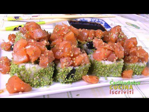 SUSHI FATTO IN CASA SPECIALE NancyMaki # 5 | Carlitadolce Cucina - Sushi...