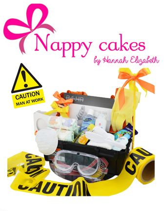 NEW Dad's Gift hamper - TOOL BOX Gift - Dads survival Gift Hamper - The Pedro Gift Hamper set. This is a perfect Baby Gift for any NEW Dad or just a reminder to a new dad of whats to come.  http://www.nappycakesbyhannahelizabeth.com/apps/webstore/products/show/4810480