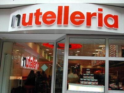nutelleria in Bologna, Italy....aka: HEAVEN.