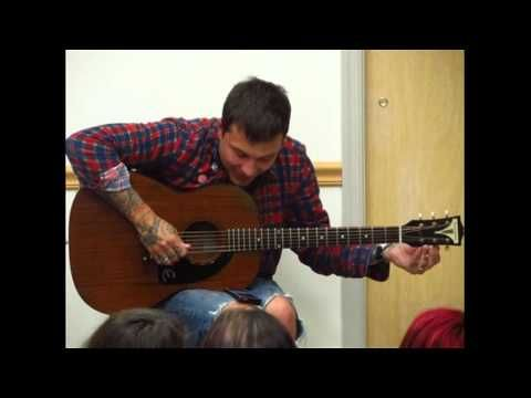 For those of you that asked:  This is how I disappear - Frank Iero acoustic cover