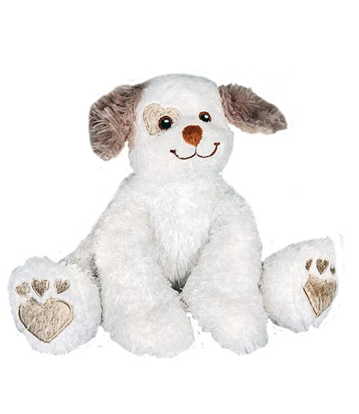 """New Arrival Bailey the puppy 8"""" chiot. Stuff your own teddy bear kit from Teddy Bear Loft . Start planning your own teddy bear stuffing party today and we'll ship tomorrow!"""