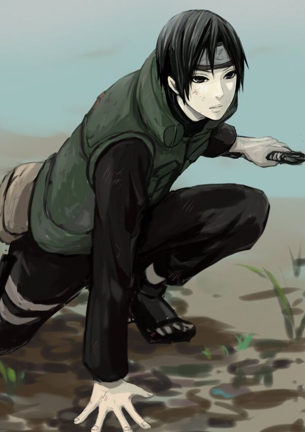 Sai - Naruto Shippuden,Anime This is a really well done piece of fanart. Sai was actually one of my favorite non-main characters. I like the look on his face.