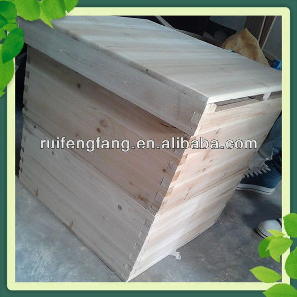 Hot sale langstroth size bee box honey bee hives for sale $19.8~$23.4