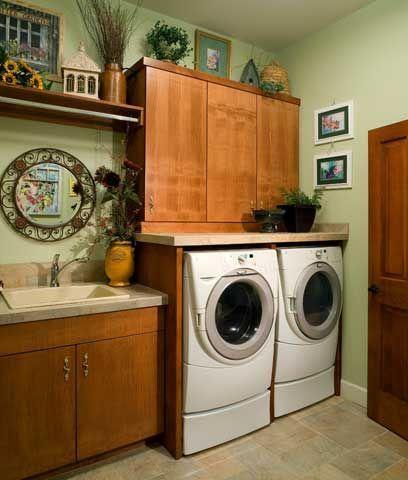 314 mejores im genes sobre cuartos de lavado en pinterest - Cuarto lavadero pequeno ...