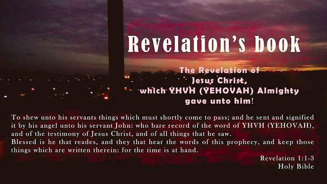 """Easy understanding of the Holy Bible.: """"Revelation: Content Summary"""""""
