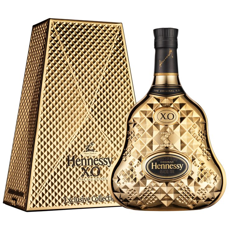 Hennessy XO Exclusive Collection 9 (IX) by Tom Dixon is a limited edition designed by a British star designer.