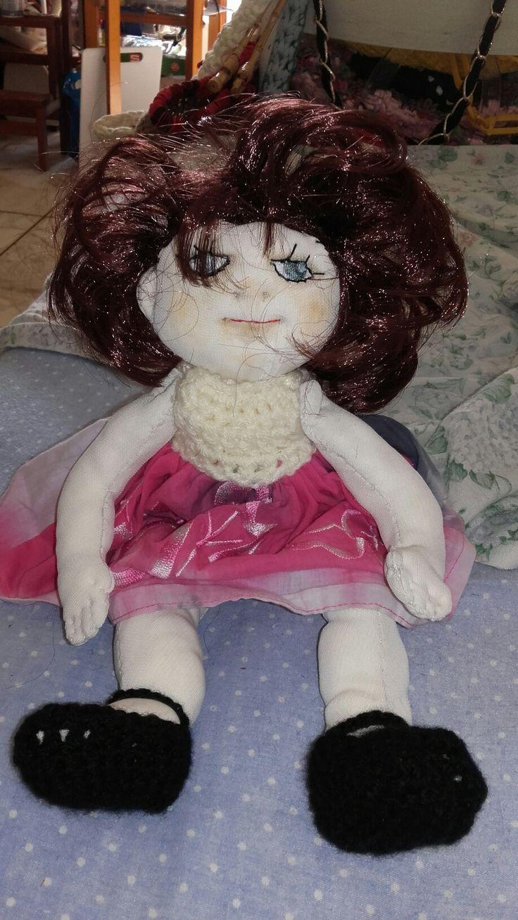 Bambola di pezza. Le mie creazionii.