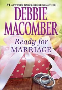 Ready for Marriage ~ What do you do when you love him-but love isn't enough? If you're Mary Jo Summerhill, kindergarten teacher, and you're in love with Boston blue blood and political hopeful Evan Dryden, you get out of his life. You do it by lying to him, by telling him you've found someone else. And you break his heart....