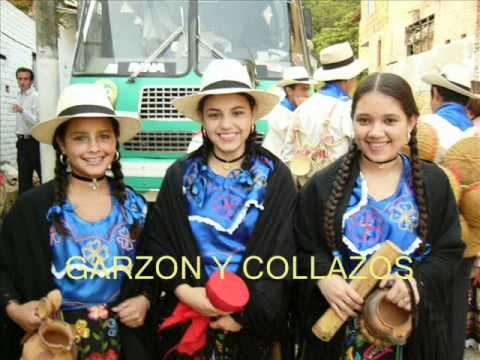 Garzón y Collazos - Campesina santandereana - Colección Lujomar.wmv