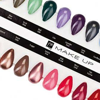Nail Lacquer Colour Display