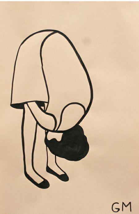 Simple Line Art Illustration : Best geoff mcfetridge images on pinterest