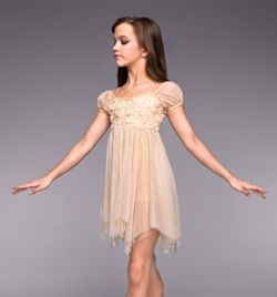 """""""Heavenly"""" Girls Lyrical Dress - Style No TH4022C - we don't need to throw modesty out the window to dance I see so many outfits on Discount dance  that proves that we can stay modest and dance"""