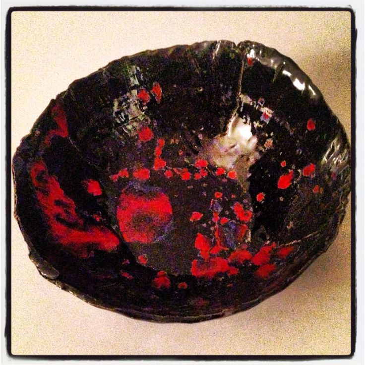 Ceramic bowl homemade by HELLANDUSSEN