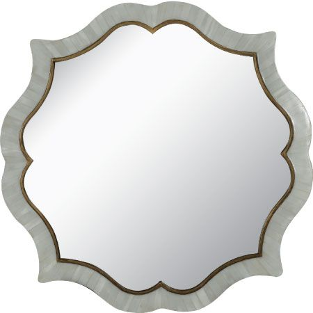 Venerable Vintage: @gabbydecor faux horn mirror