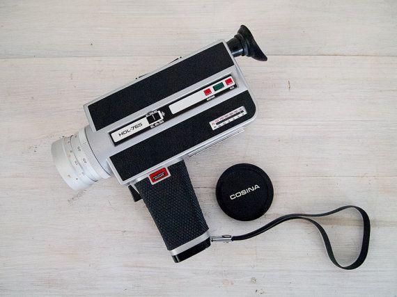 vintage cosina macro super 8 mm german movie camera with case