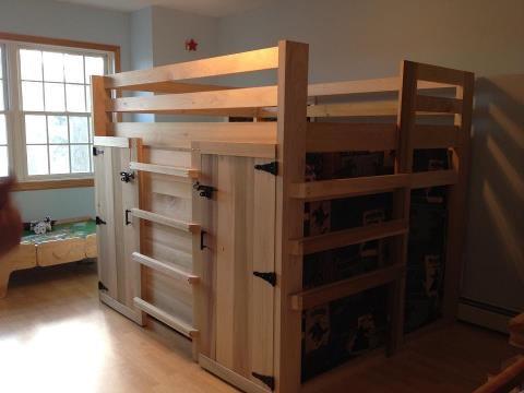Boys Loft Bed With Fort Noah S Room Pinterest Loft