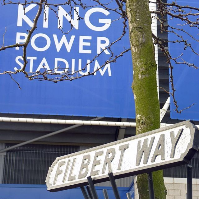 Any #lcfc @lcfc fans? Get your own piece of #filbertway - exclusive to us #leicester #leicestercity road signs! #pomponette #losebylane #leicestershire #leicestercityfc #leicestercitycentre #bluearmy #kingpower #kingpowerstadium #premierleague #foxes #fathersday #fathersdaygift #signs #roadsigns #gift