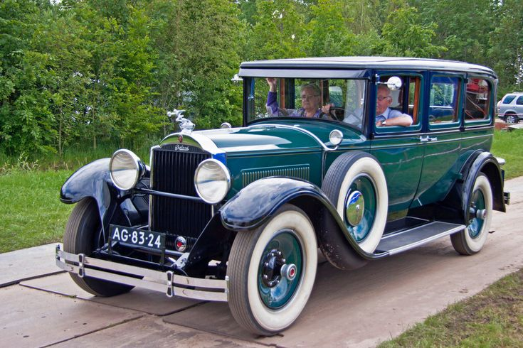 Packard 640 Custom Eight Series Sedan 1929 (7971)