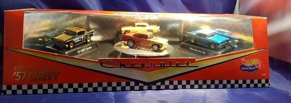 Hot Wheels 40th Anniversary '57 Chevy Chevrolet 1957-1997 Mint In Box 1997 #HotWheels