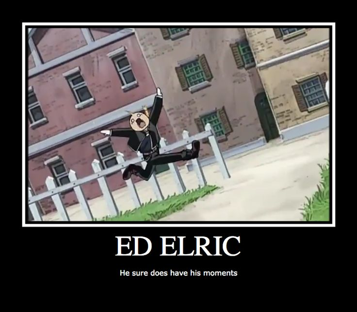 Edward Elric, all the funny scenes have him, or Alphonse elric