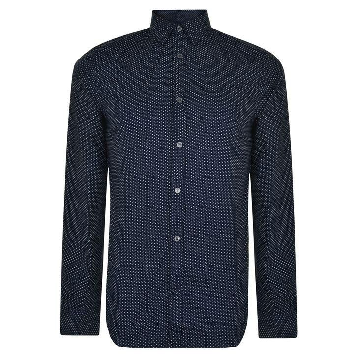 French Connection | Divided Dot Slim Fit Shirt