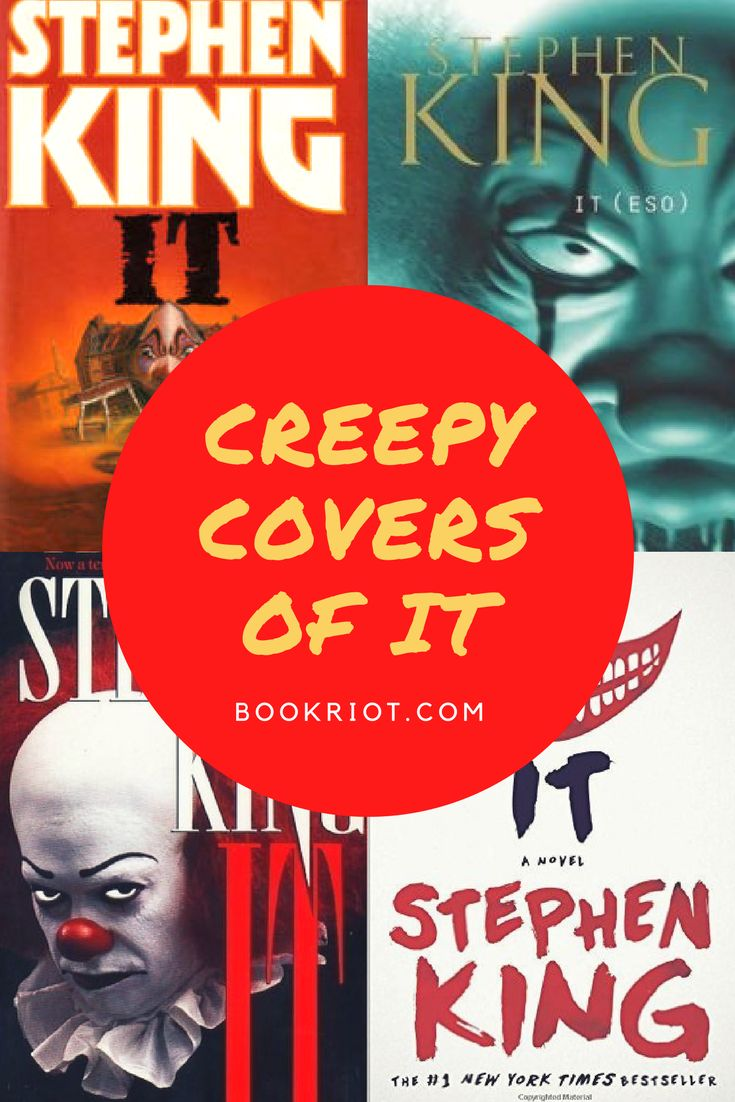 The Creepy Covers Of It