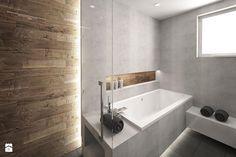 Znalezione obrazy dla zapytania beton plus ciemne drewno łazienka