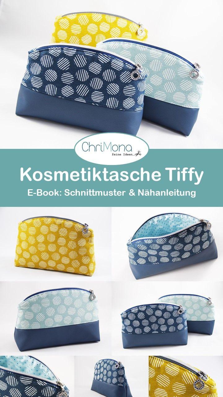 Kosmetiktasche Tiffy – Ein E-Book mit Schnittmuste…