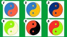 EL TEST DEL YING YANG Según la psicología emocional, las características y combinación de colores de tu yin yang favorito podrían revelar maravillosos aspectos de tu vida y tu personalidad.  Elige el tuyo y a continuación descubre su significado.