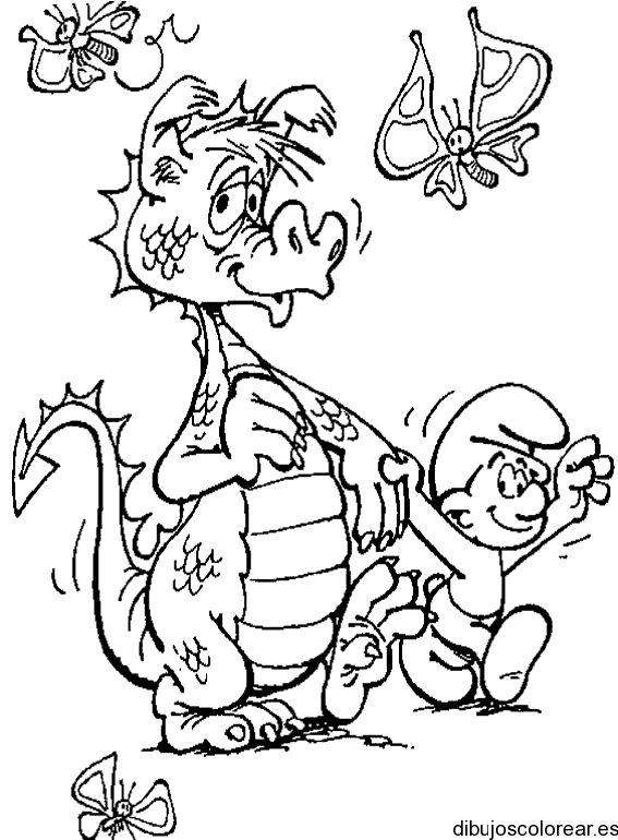 Dibujos de Dragones | Dibujos para Colorear