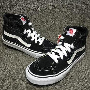 Vans sk8 HI vn000d5ib8c black white  ca144925fa