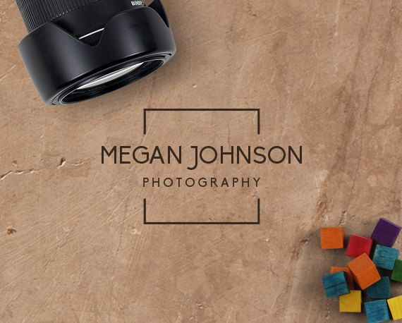 Photography Logo Design Photography. DIY Logo by GraphicFlava