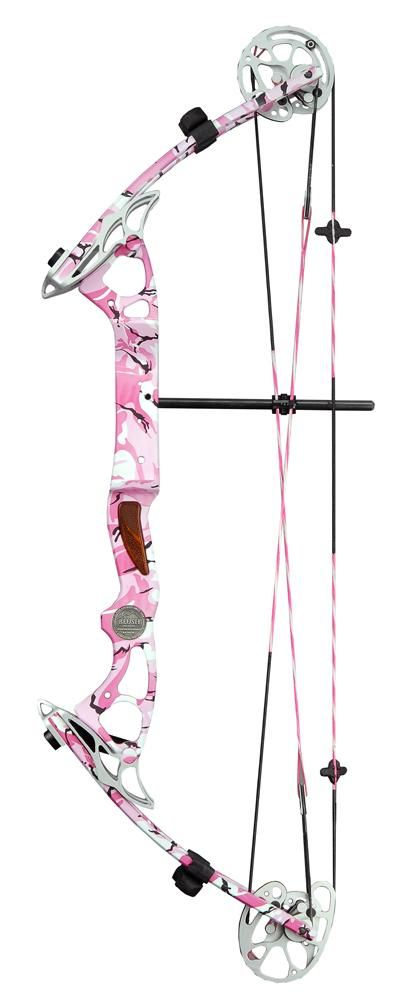 Alpine Blush  $399; alpinearchery.com  The Blush is designed for women who want a high-performance shooter at a budget price. The Blush has one of the most outlandish finishes I've seen. Make no mistake, you'll get noticed when carrying the Blush.   Its a full-sized bow, measuring 30-inches axle-to-axle. At this respectable length, it is still manageable at 3.5-pounds of mass weight. Draw lengths range from 24- to 27-inches. Draw weights are available in 40 and 50-pounds. A great…