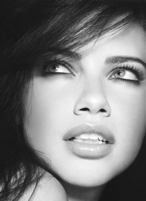 Adriana Lima - she's probably as vain as they come, but I would be too if I looked like that.