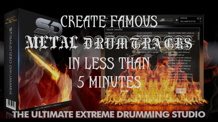 How To Create Famous Metal Drumtracks In Less Than 5 Minutes/Stigmatized...