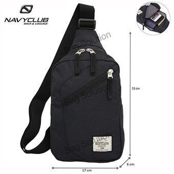 Belanja Navy Club Tas Selempang Travel - Tas Punggung Tahan Air - Sling Bag 5032 - Hitam Murah - Belanja di Lazada. FREE ONGKIR & Bisa COD.