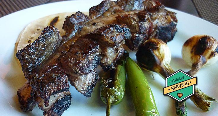Parrila de cortes finos del norte, maestros en lo que hacen con una carne deliciosa.